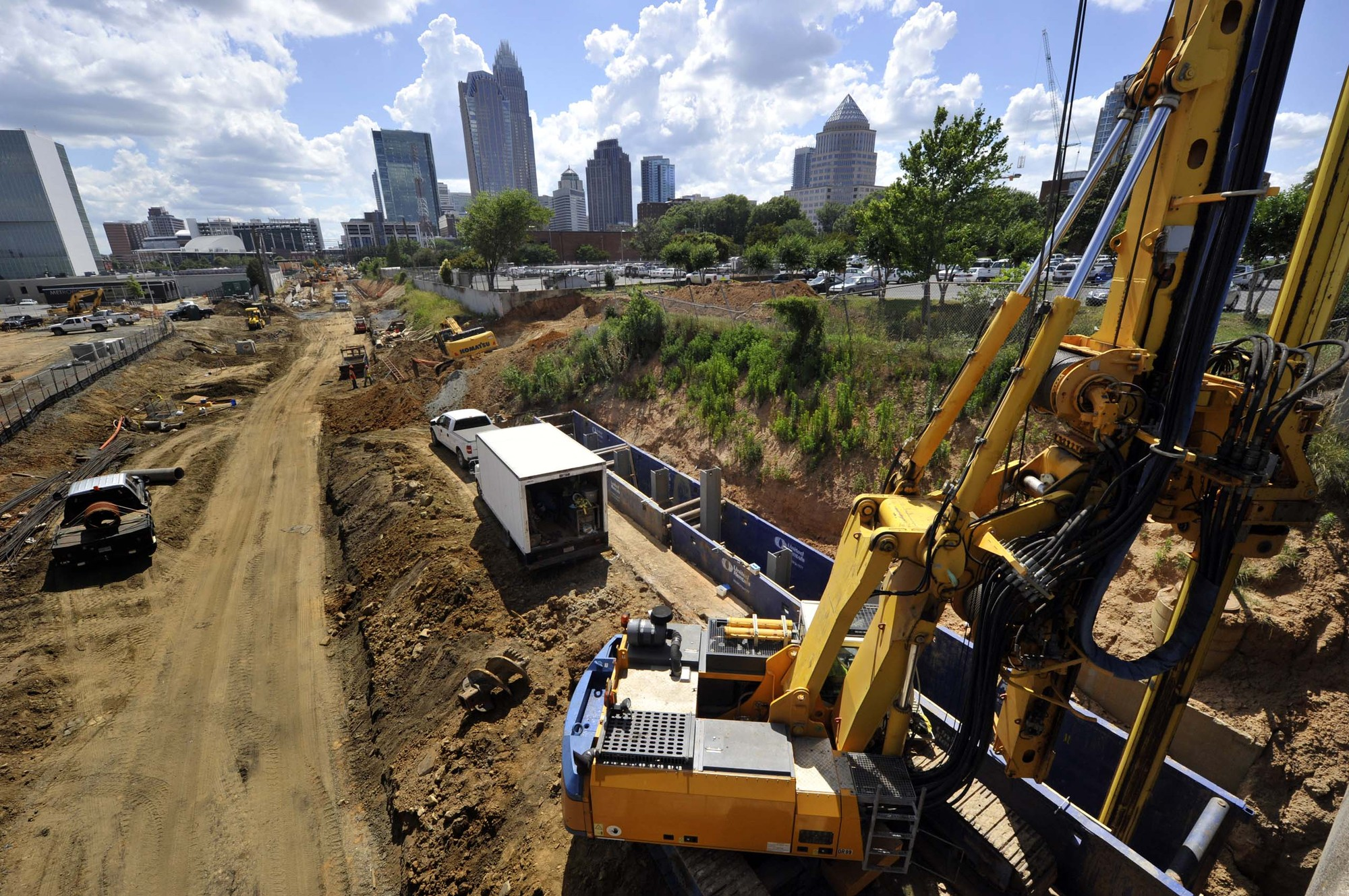 Charlotte road construction projects - View The Full Image Construction