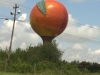 H. The Peachoid in Gaffney, South Carolina, built in 1980-81 (New Jersey artist, Peter Freudenberg) Photo: Melissa Currie