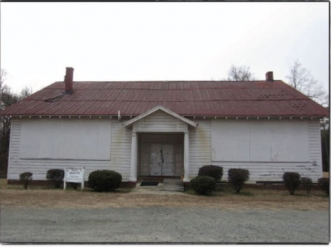Historic Rosenwald School in Newell. Photo: Silver Star