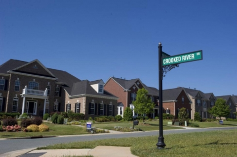 Union County's rapid growth, as in this subdivision, led it to create an adequate facilities ordinance. Photo: Nancy Pierce