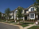 Cureton development in Waxhaw, mix of condos and single family homes in a planned community Photo: Nancy Pierce
