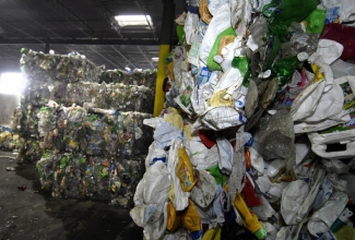 Metrolina Recycling Center processes about 60,000 tons of recyclables a year. Nancy Pierce photo
