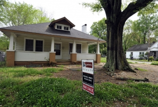 A bungalow for sale in 2012 in the Villa Heights neighborhood. Photo: Nancy Pierce