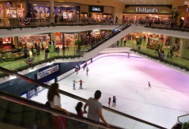 Eastland Mall skating rink in 2002. Photo: Nancy Pierce