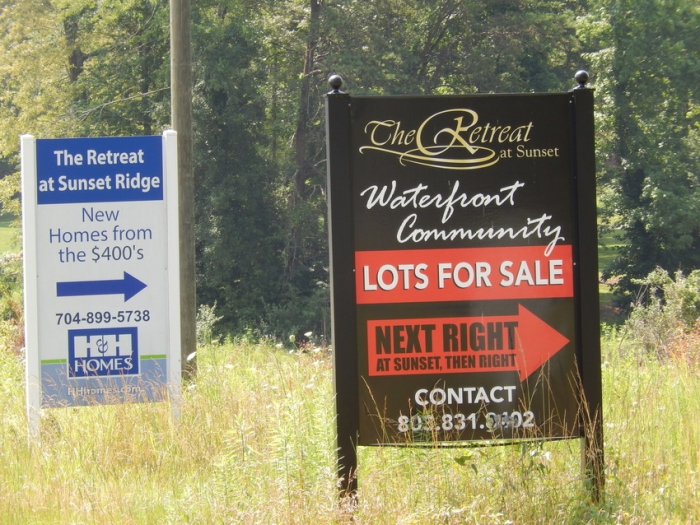 Land for sale for development in York County. Photo: Mae Israel