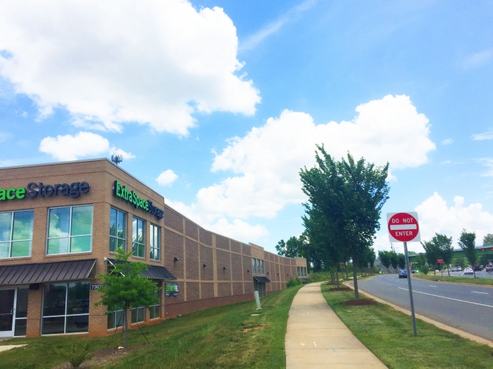 A Self Storage Building Offers A Long Wall To University City Boulevard,  Near The New University City Boulevard Light Rail Station Around The Corner  On ...
