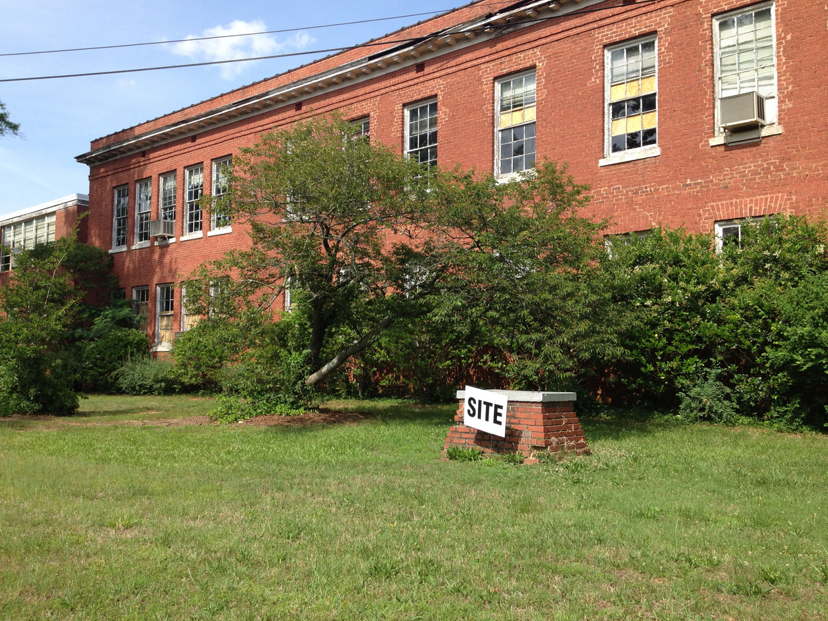 Albemarle plans to renovate this former downtown elementary school into senior apartments. (Photo: Chuck McShane)