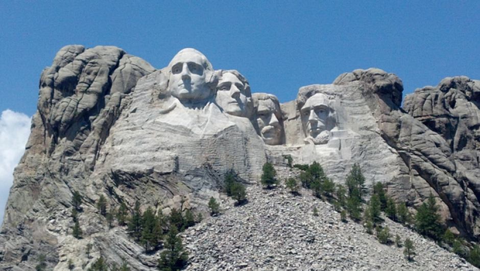 G. The Mount Rushmore National Memorial was built from 1927-1941. Photo: Melissa Currie