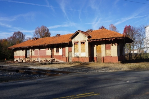 P&N Depot at Thrift on Old Mount Holly Road, Charlotte, to be saved. Photo: Dan Morrill