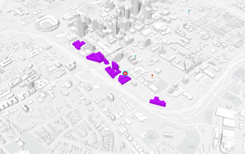 ArcGIS Urban model of Charlotte