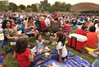 Symphony Park at SouthPark. July 3, 2011. Photo: Nancy Pierce