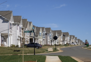 Suburbs in Charlotte are growing fast, as they are in many cities.