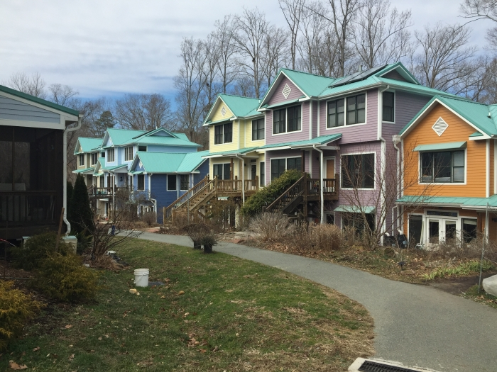 Aracadia, a cohousing development in Carrboro, N.C. Photo: Robert Boyer