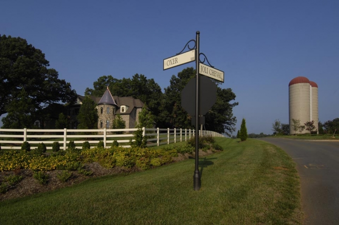 Region's residents want to preserve farmland. Cheval neighborhood in Mint Hill, on site of old dairy farm. Photo: Nancy Pierce