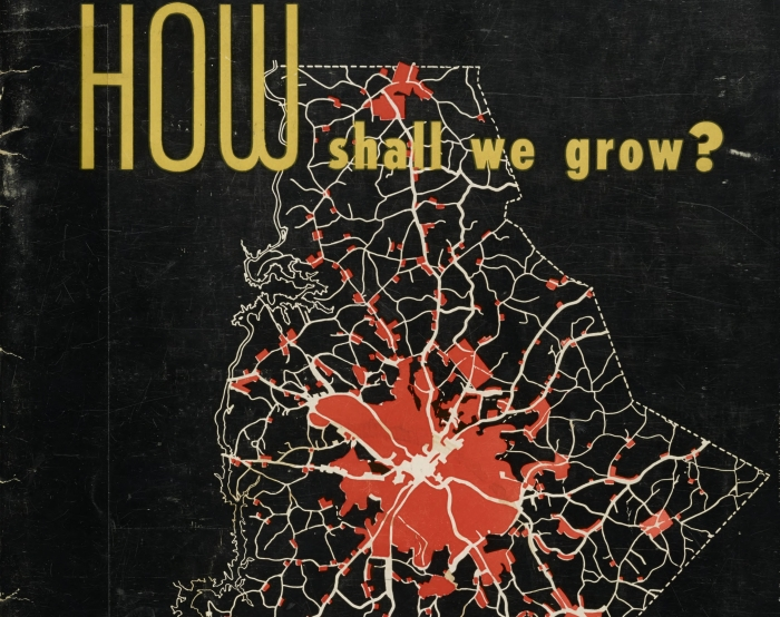 The cover of a 1955 report that raised some of the same questions about Charlotte's growth we're still asking today.